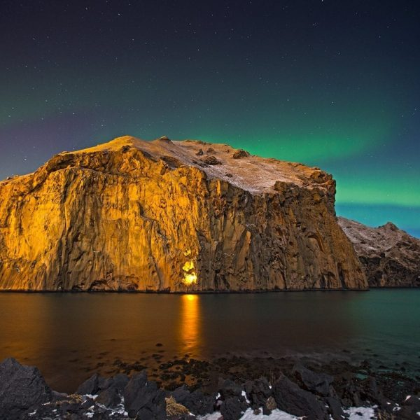 Westman Islands northern lights Iceland must see spot