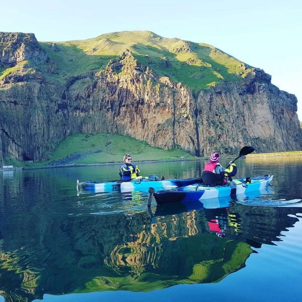 Kayak and Puffins tour Vestmannaeyjar - Westman Islands