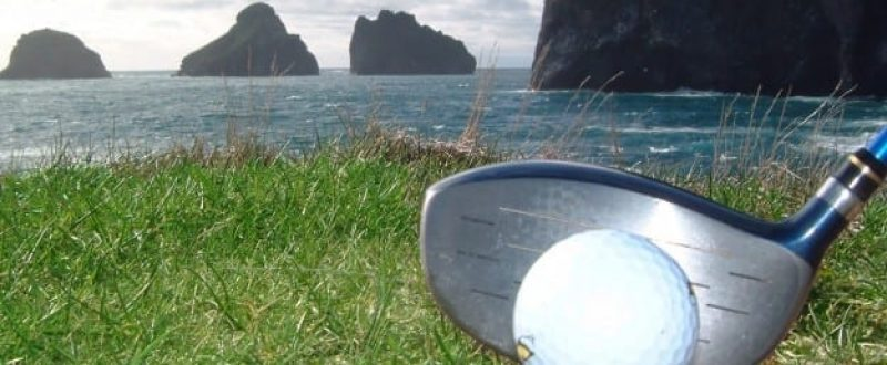 Golf on Westman Islands / Vestmannaeyjar